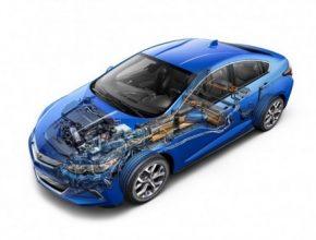 auto nový Chevrolet Volt plug-in hybrid druhá generace