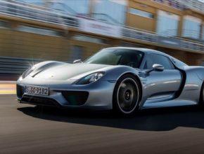 auto Porsche 918 Spyder hybrid supersport wallpaper