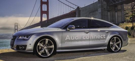 auto robotické Audi 7