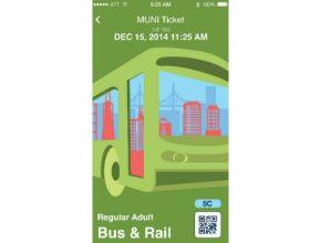 auto San Francisko Muni aplikace mobilní lístek
