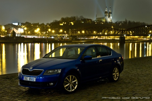 auto Škoda Octavia CNG na stlačený zemní plyn