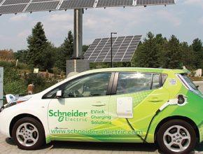 Elektrické vozidlo Schnaider electric