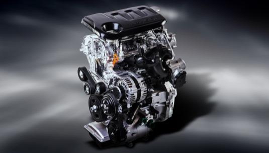 Světová premiéra nového maloobjemového motoru Kia 1,0 l T-GDI na autosalonu Ženeva 2015 je výsledek vlastního vývoje v rámci výzkumného a vývojového centra Kia vkorejském Namyangu. Nově vyvinuté vstřikovací ventily vrtané laserovým paprskem umožňují hospodárnější spalování.