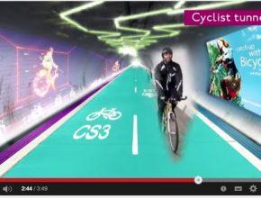 auto cyklostezky Londýn tunely metra