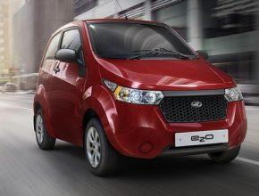 auto Mahindra Reva e2o elektromobil