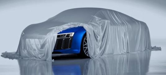 auto nové Audi R8