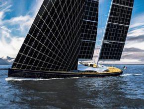 auto jachta Helios solární plachty