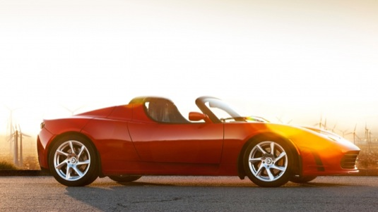auto Tesla Roadster elektromobil Tesla Motors