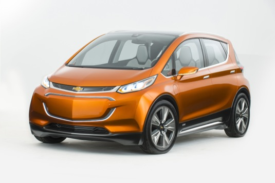 auto Chevrolet Bolt koncept