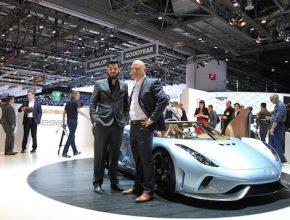 Autosalon Ženeva 2015: Koenigsegg Regera s výkonem přes 1500 koní