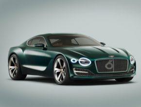 Koncept Bentley EXP 10 Speed 6 představený na autosalonu v Ženevě