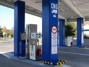 auto CNG a LPG plnící stanice