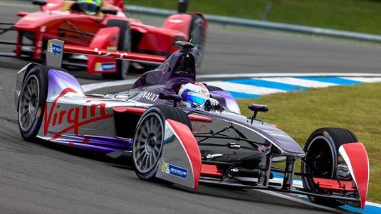 auto Formule E závodní elektromobil Virgin Racing