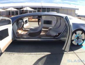 auto koncept Mercedes F 015
