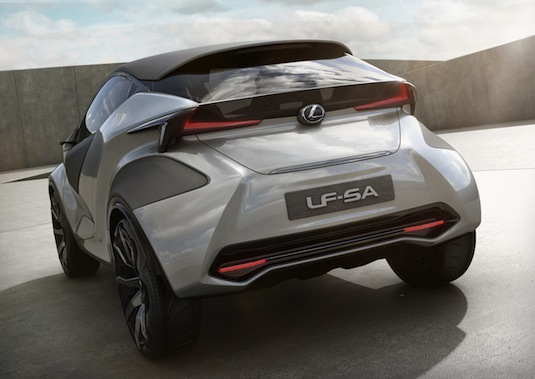 Autosalon Ženeva 2015: Lexus LF-SA - luxusní malé auto