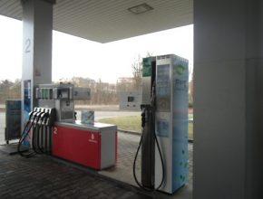 nová CNG plnička v Plzni