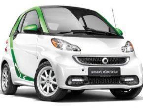 auto Smart fortwo Electric Drive ED elektromobil auto