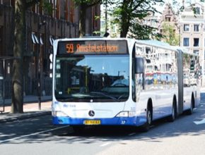 auto autobus Nizozemsko Amsterdam