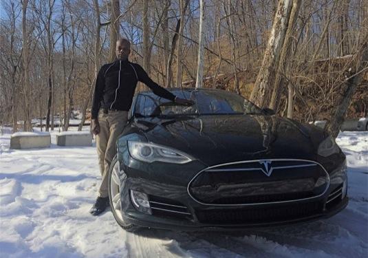 auto elektromobily Dante Richardson elektromobil Tesla Model S 200 000 km
