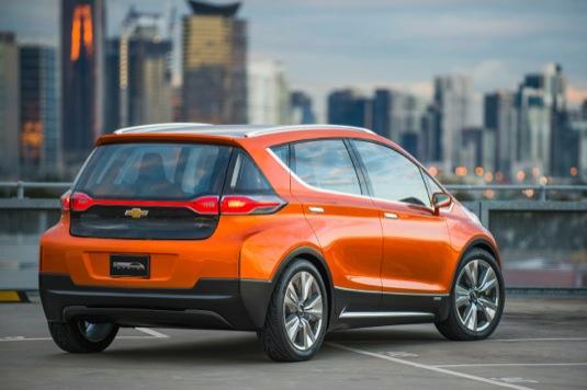 auto elektromobil Chevrolet Bolt koncept