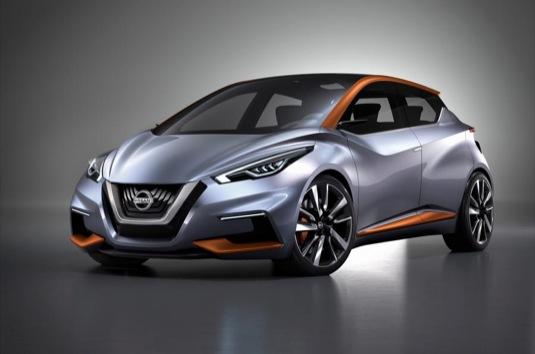 Nissan Sway koncept představený na autosalonu v Ženevě 2015