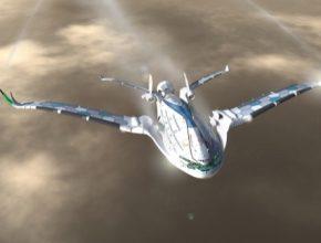 letadlo budoucnost designér Oscar Viñals ze španělské Barcelony