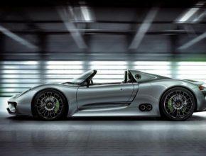 auto Porsche 918 Spyder plug-in hybrid supersport sportovní auto