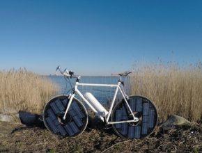 solarbike solární elektrokolo jízdní kolo
