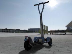 auto elektrický solární skútr elektroskútr