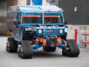 auto Hummer H1 Zero South výprava na jižní pól