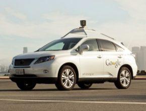 auto robotické auto Lexus RX450h Hybrid Google