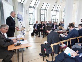 Zahájení dopravního fóra: Bernard Bauer, výkonný člen představenstva ČNOPK