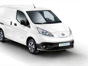 auto elektrická dodávka elektromobil Nissan e-NV200