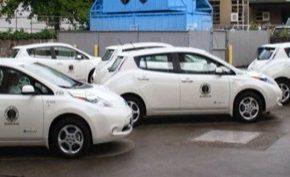 auto elektromobily Nissan Leaf Seattle USA Spojené státy americké parkování