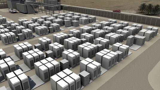 auto Tesla PowerWall baterie stacionární pro energetiku