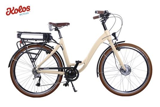 auto elektrokola Citybikes Kolos