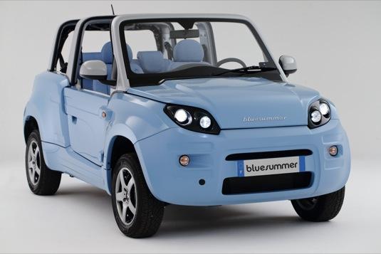 auto elektromobil Bolloré BlueSummer elektroauto