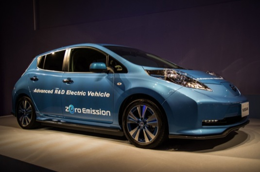 auto elektromobily Nissan Leaf Advanced R&D Electric Vehicle