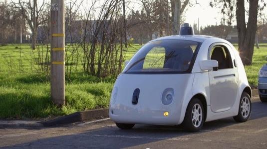 auto robotická auta roboauta Google autonomní řízení self-driving project