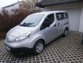 auto test elektromobilu elektrododávky elektrické dodávky Nissan e-NV200 Radovan Burkovič