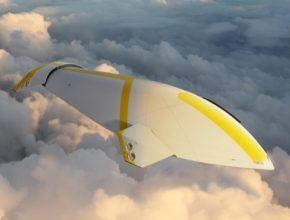 Futuristická vzducholoď připomíná mořského dravce