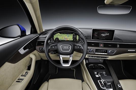 auto nové Audi A4 Avant g-tron s pohonem na CNG