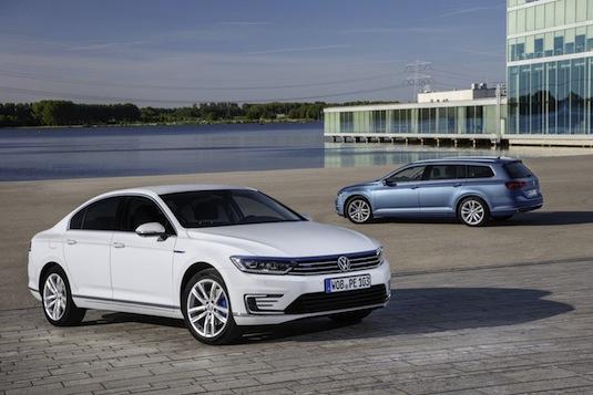 auto nový Volkswagen Passat GTE plug-in hybrid