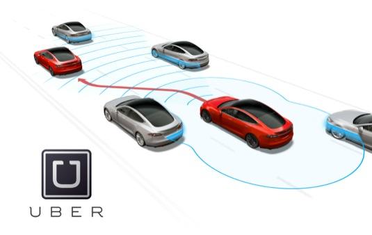 auto Autopilot Tesla Uber
