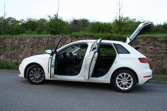 auto test Audi A3 Sportback g-tron 1.4 TFSI