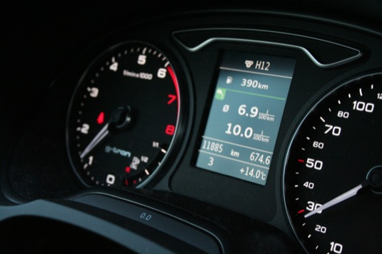 auto test Audi A3 g-tron auto na plyn CNG
