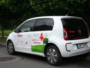 auto test elektromobilu Volkswagen e-Up!