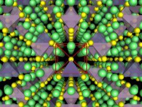 auto krystalová struktura nového typu pevného elektrolytu z výzkumu MIT Samsung