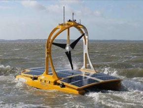 C-Enduro robotický dron katamarán Keltské moře