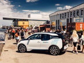 auto elektromobil BMW i3 Dánsko Kodaň systém sdílení aut DriveNow BMW